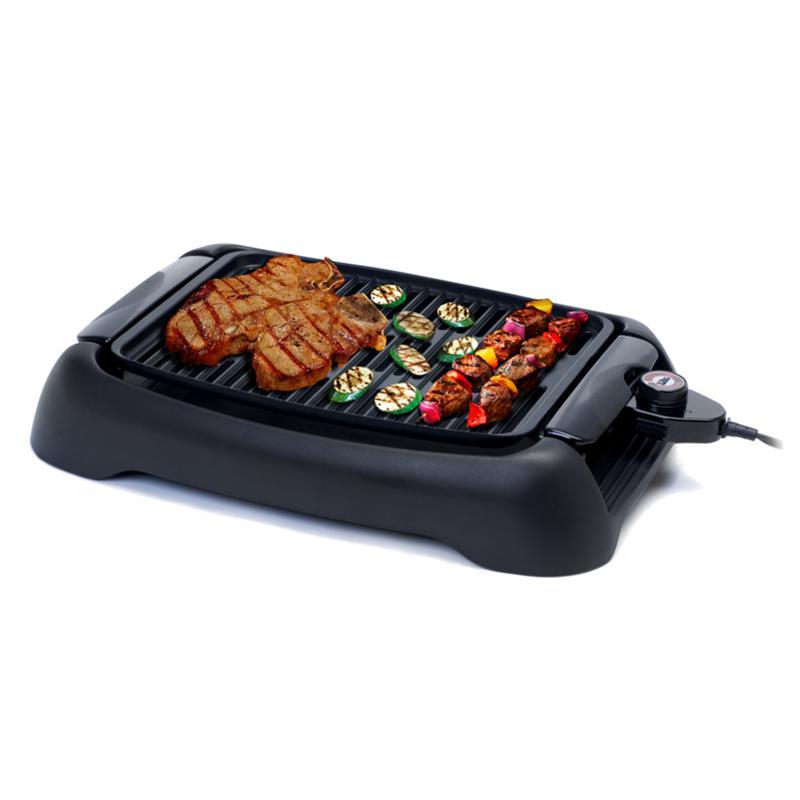 """Elite Cuisine 13"""" Countertop Indoor Grill"""