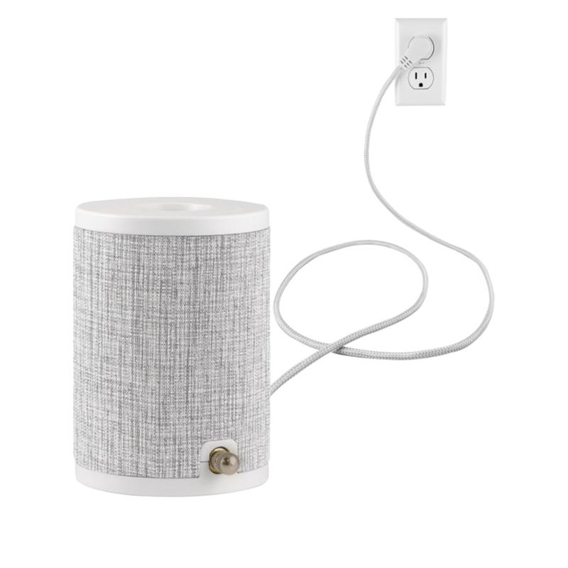 Enbrighten Anywhere 2-pack Fabric-Covered Lamp
