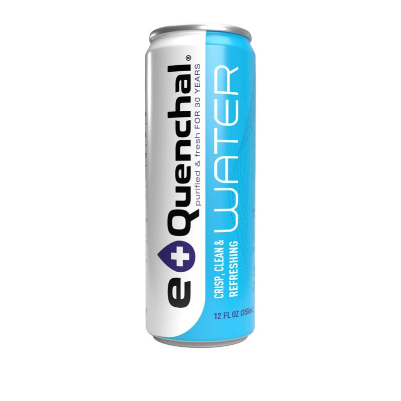 eQuenchal 24-count 12 oz. Canned Purified Water Auto-Ship®