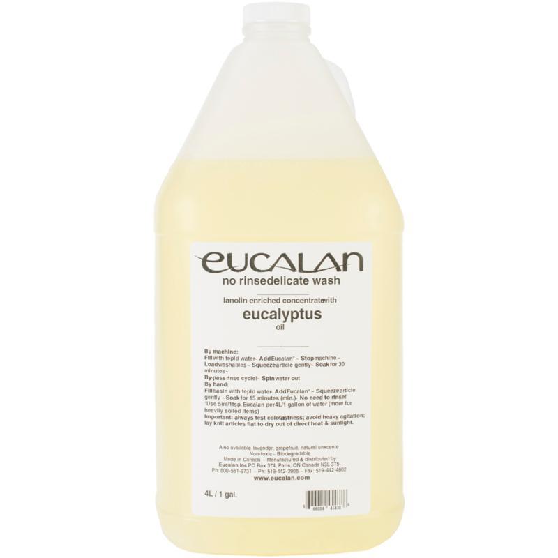 Eucalan Fine Fabric Wash 1 Gallon - Eucalyptus