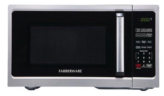 Farberware Classic 0.9 Cu. Ft 900-Watt Microwave Oven, Stainless Steel