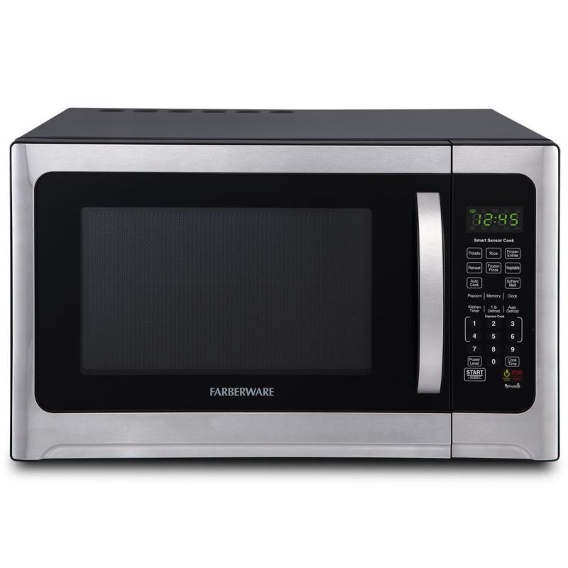Farberware Professional 1.2 cu. ft. Microwave w/Smart Sensor Cooking