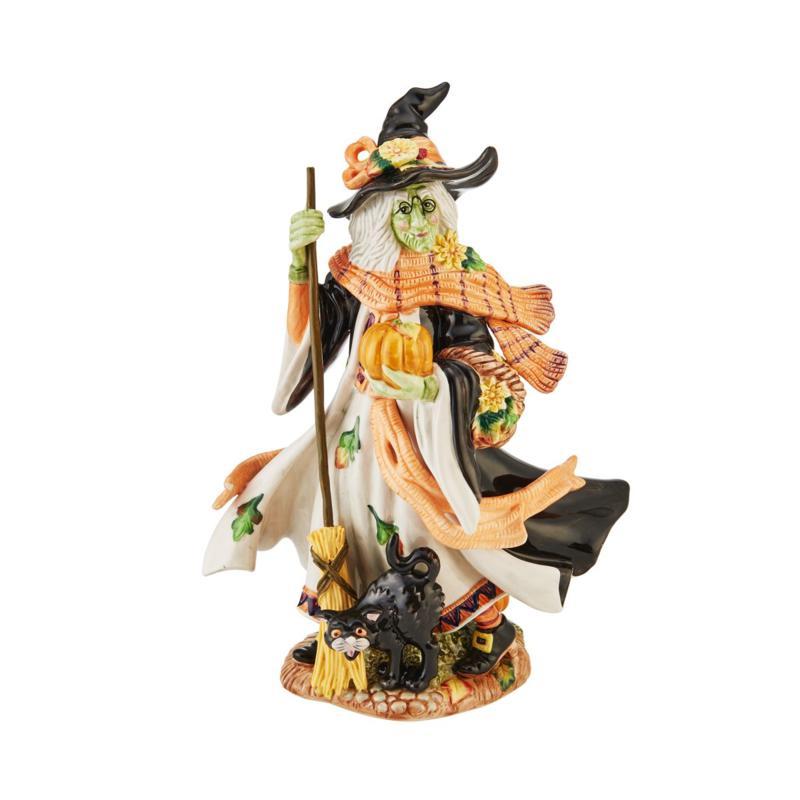 Fitz and Floyd Halloween Harvest Witch Figurine