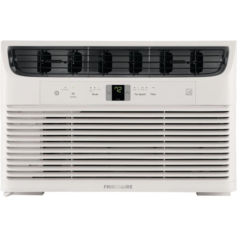 Frigidaire 6,000 BTU Cool Connect Smart Window Air Conditioner, White
