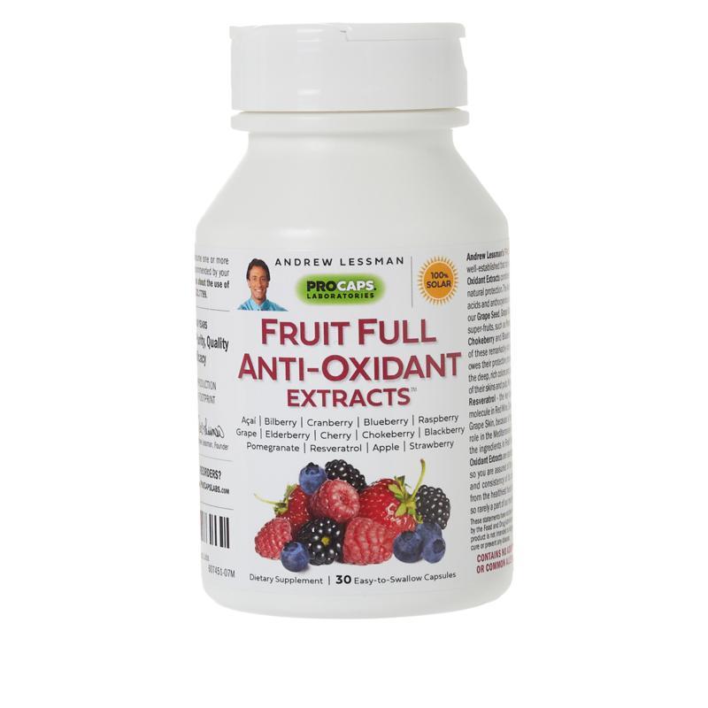 Fruit Full Anti-Oxidant Extracts - 30 Capsules