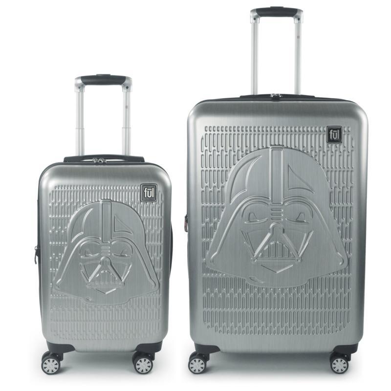 FUL Star Wars Darth Vader Embossed 2-piece Luggage Set