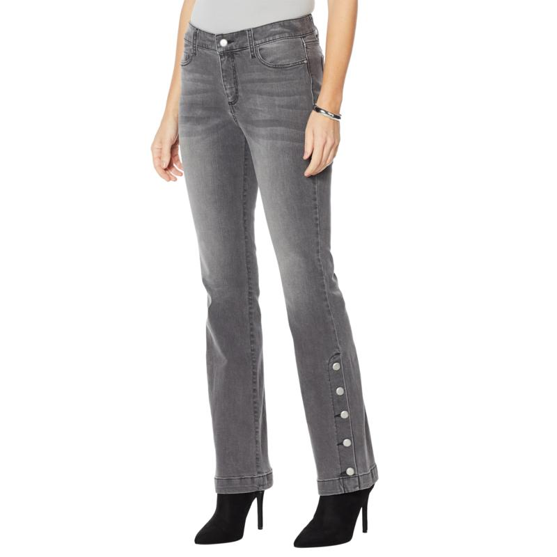G by Giuliana Buttoned-Leg Flare Jean