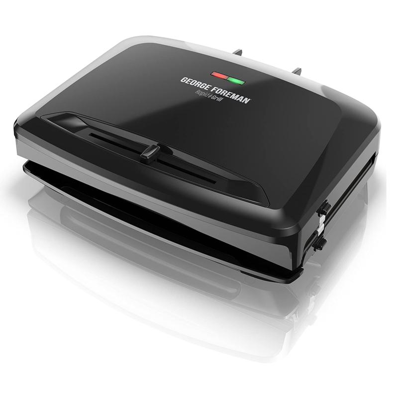 George Foreman Rapid Grill Series 5-Serving Electric Indoor Grill