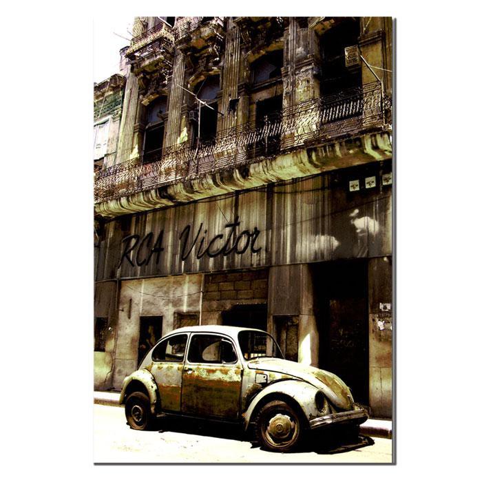 Giclee Print - 1956 Volkswagen Beetle Sedan
