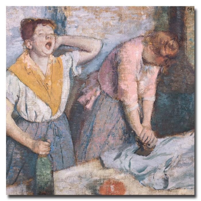 """Giclee Print - The Laundresses, 1884 24"""" x 24"""""""