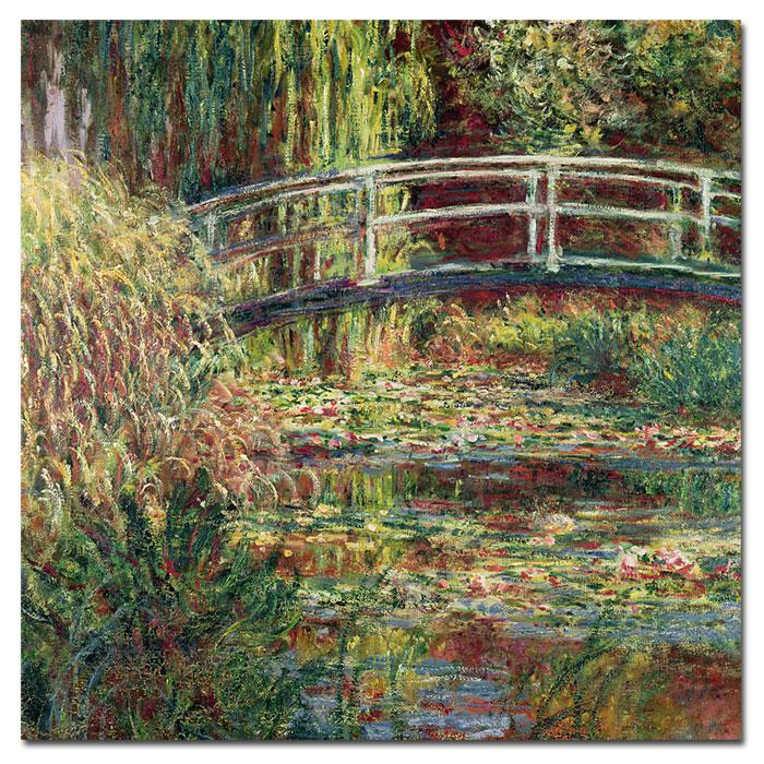 Giclee Print - The Water Lily Pond - Pink Harmony 1900