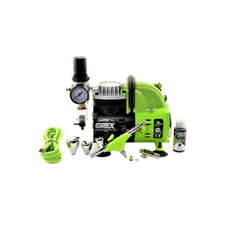 Grex Airbrush Combo Tritium TG3 Kit