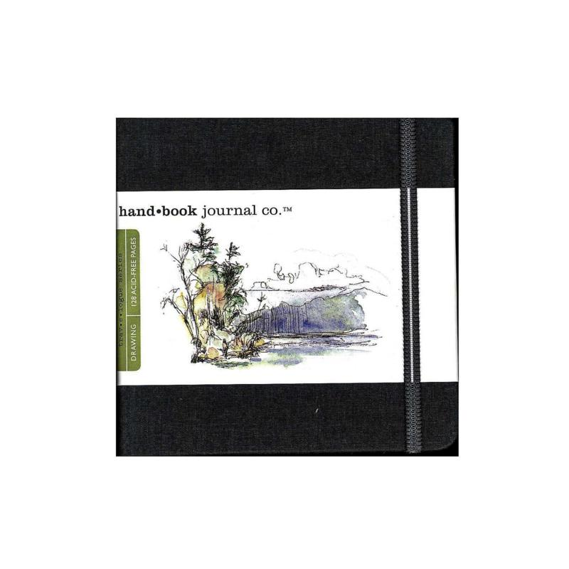 Hand Book Journal Co. Travelogue Drawing Journals - Square Ivory/Black