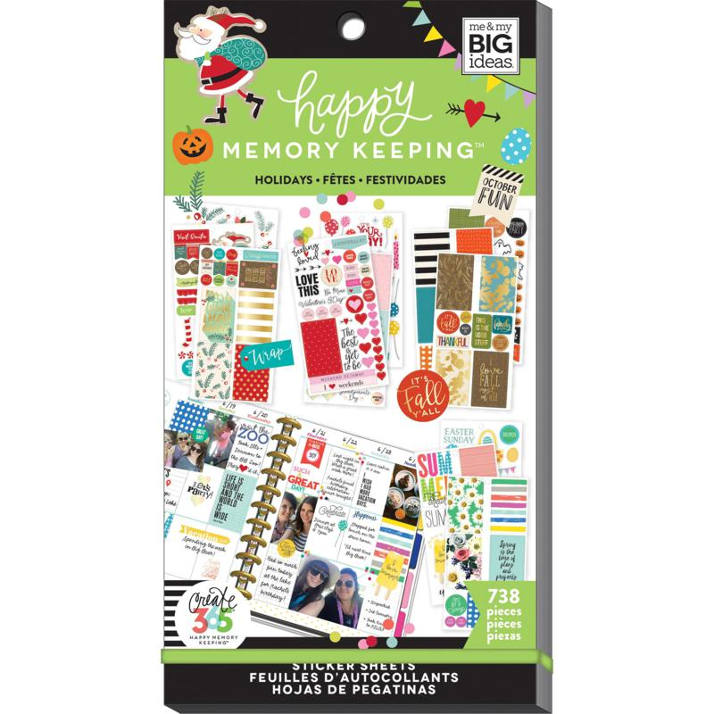 Happy Planner Sticker Value Pack - Seasons and Holidays
