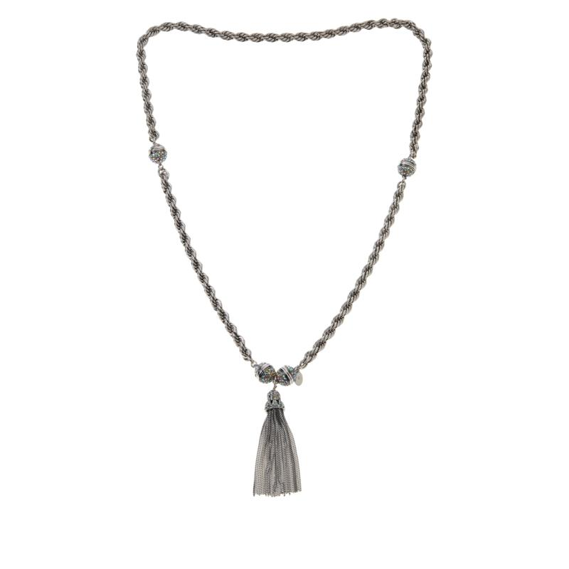 """Heidi Daus """"Endless Possibilities"""" Convertible Necklace and Bracelet"""