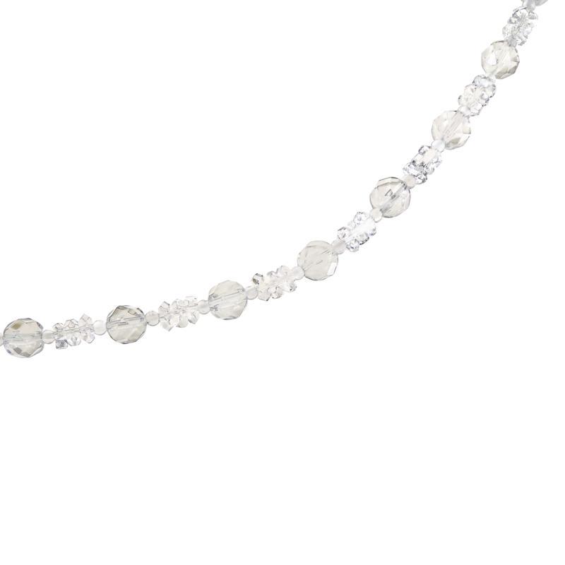 "Herkimer Mines 88.25ctw Multicut ""Diamond"" Quartz 36"" Necklace"