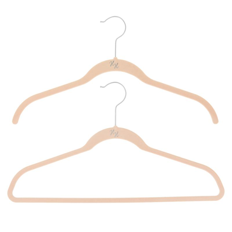 Huggable Hangers 40-pack of Shirt & Suit Hangers with Chrome Hooks