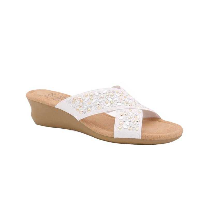 IMPO International Gypsy Stretch Sandal with Memory Foam