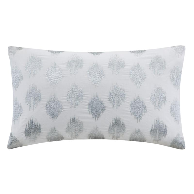 INK+IVY Nadia Dot Embroidered Silver Oblong - Gold