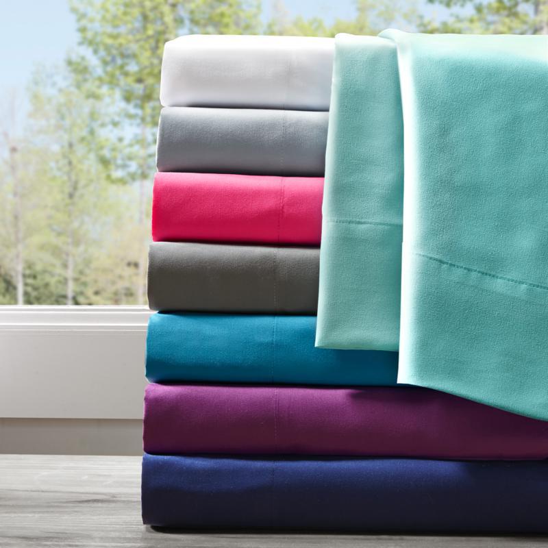 Intelligent Design All Season Wrinkle-Free Sheet Set -Twin XL/Charcoal