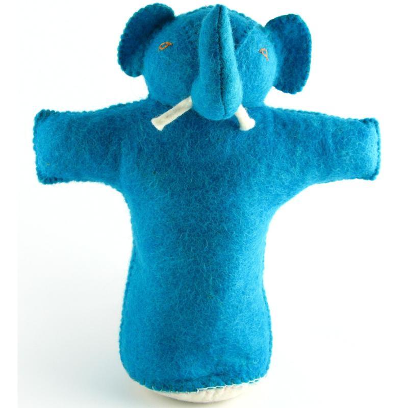 Isabella Cane 100% Wool Dog Toy - Elephant