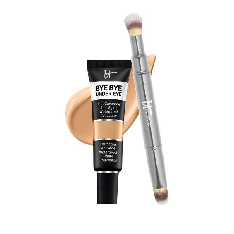 IT Cosmetics 21 Medium Tan Bye Bye Under Eye Concealer with Collagen