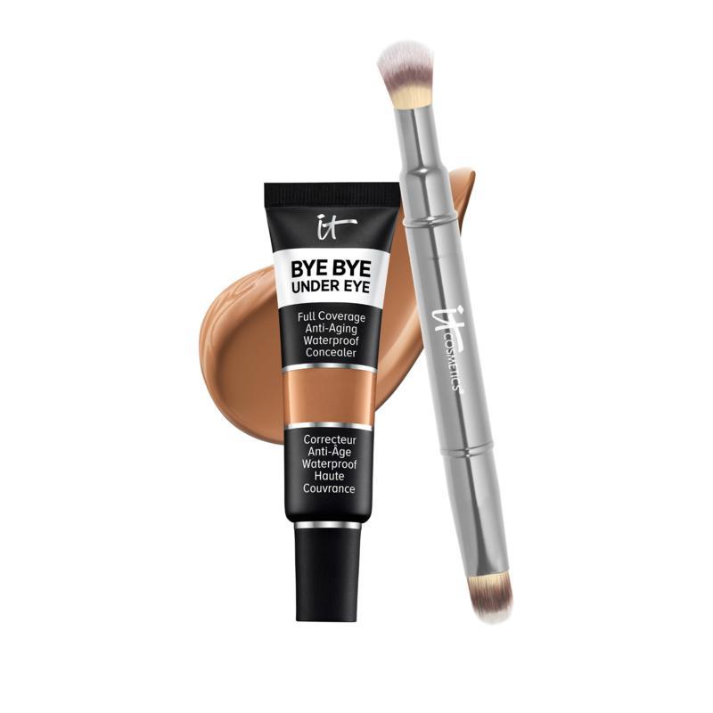 IT Cosmetics 40.5 Deep Bye Bye Under Eye Concealer with Collagen