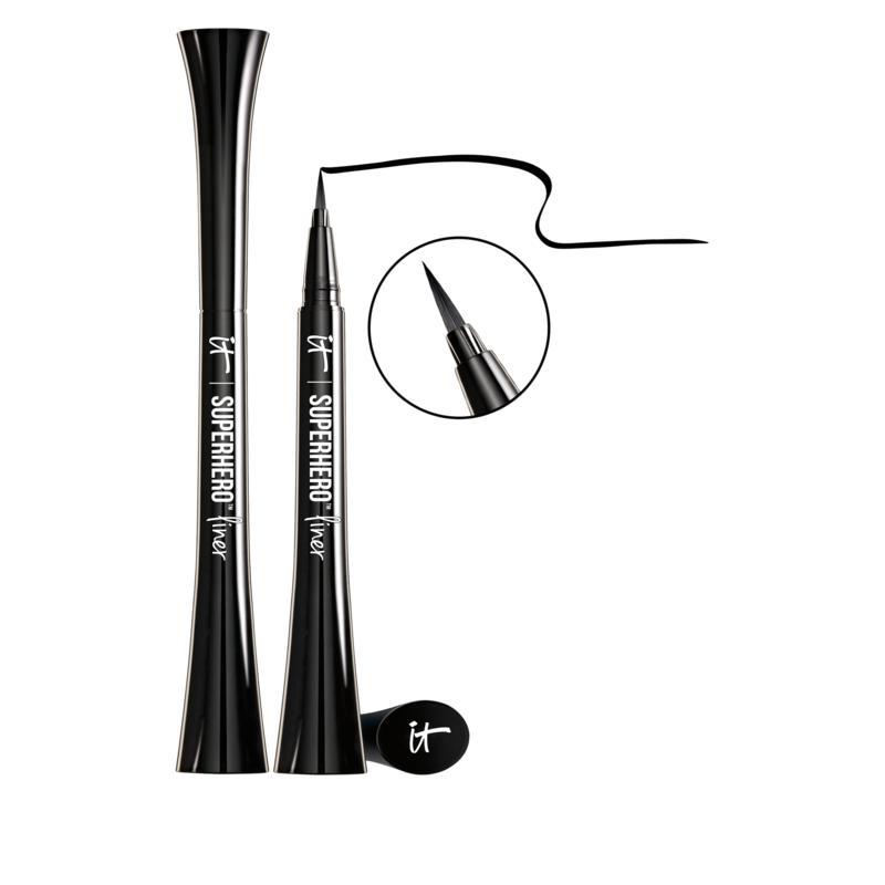 IT Cosmetics Superhero 24-Hour Waterproof Liquid-Gel Liner 2-pack