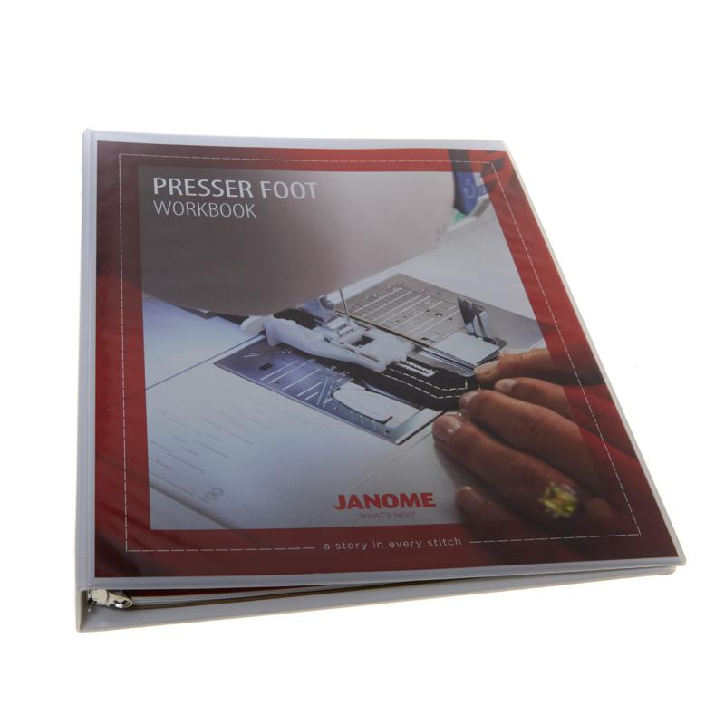 Janome Presser Foot Workbook Reference Guide