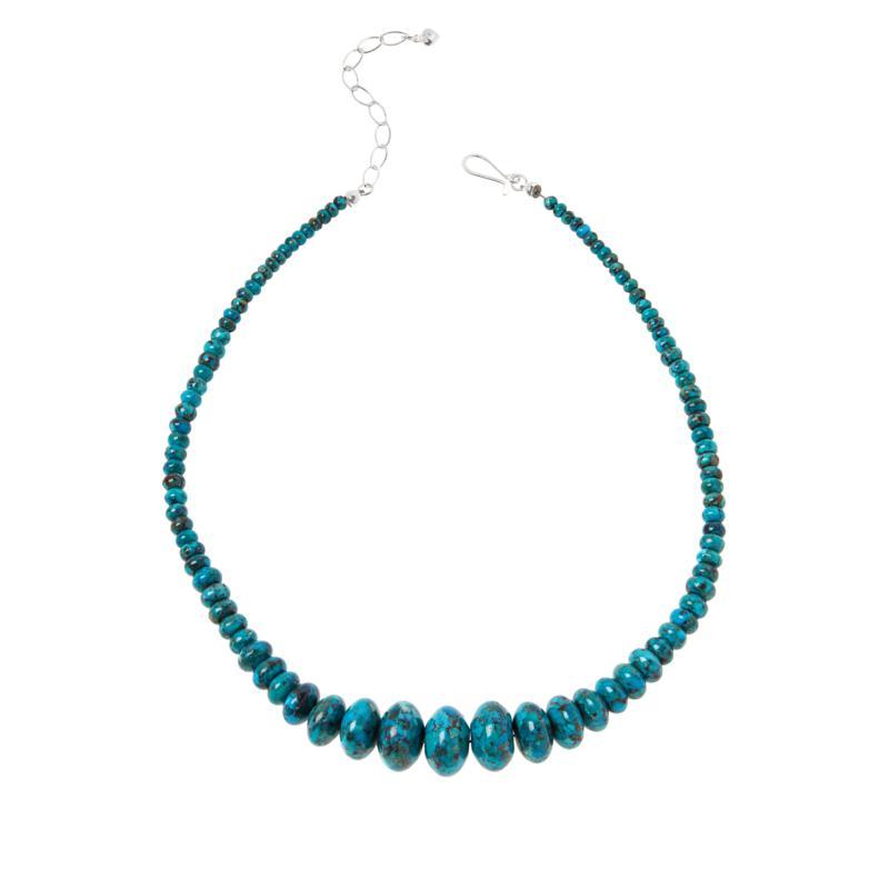 Compressed Nugget Turquoise Pendant
