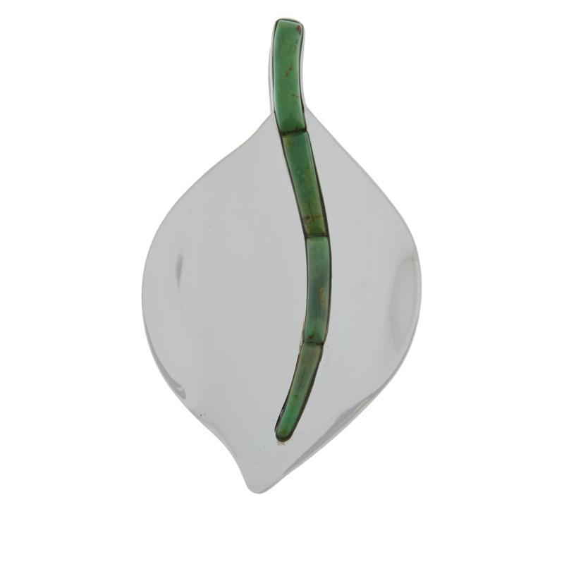 Jay King Gallery Collection Citron Verde Turquoise Pendant