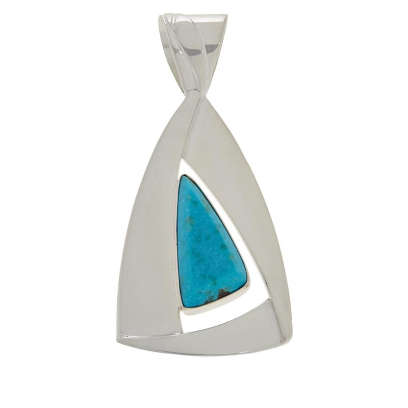 Jay King Gallery Collection Sonoran Blue Turquoise Pendant