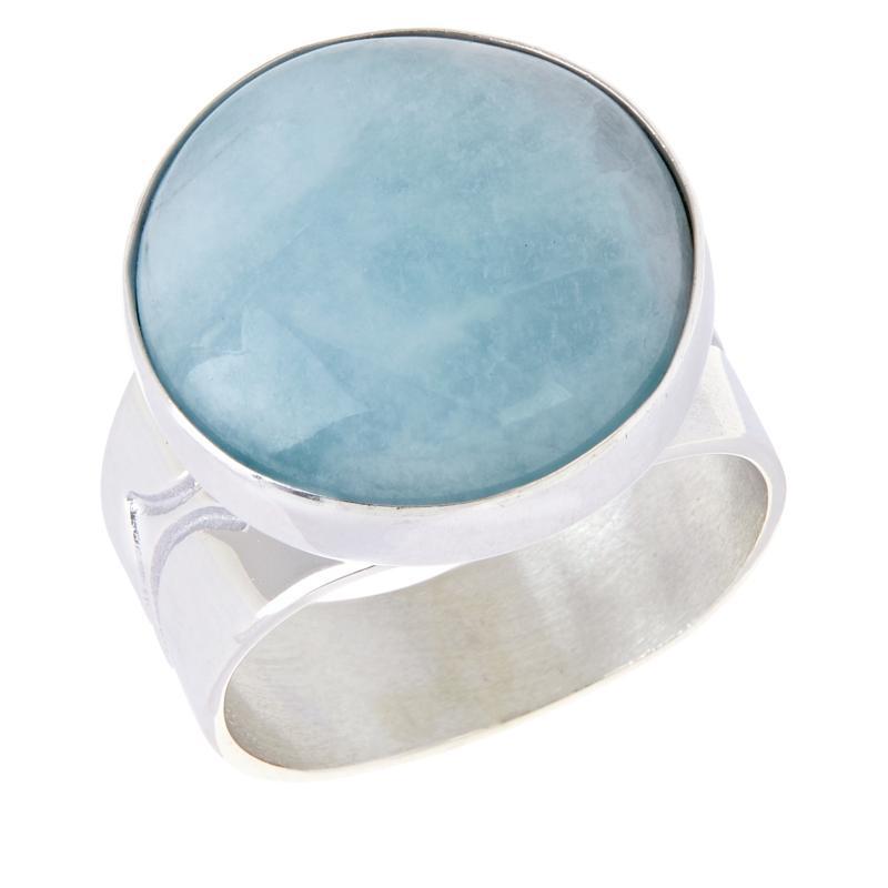 Jay King Sterling Silver Aquamarine Ring