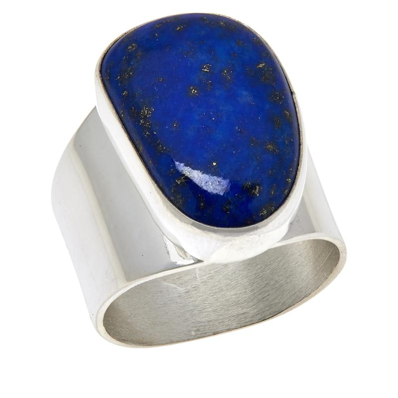 Jay King Sterling Silver Freeform Lapis Ring