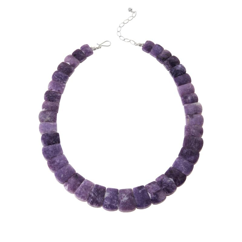 Jay King Sterling Silver Lepidolite Necklace