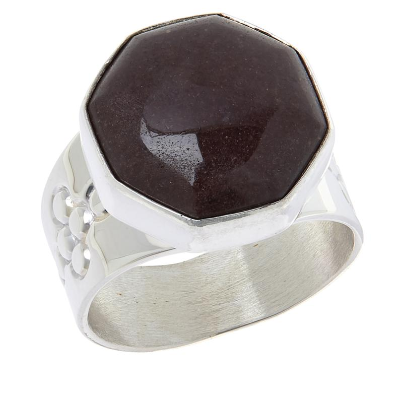 Jay King Sterling Silver Rose Taupe Quartzite Ring