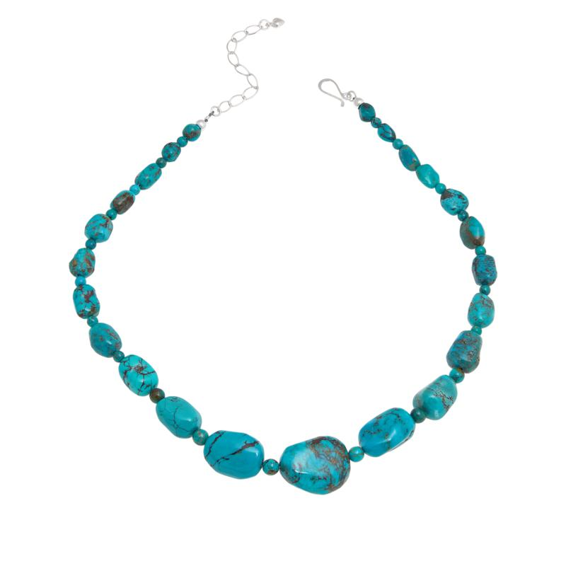 Jay King Sterling Silver Turquoise Hill Necklace