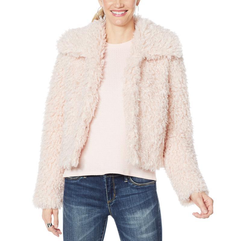Jessica Simpson Sasha Teddy Coat