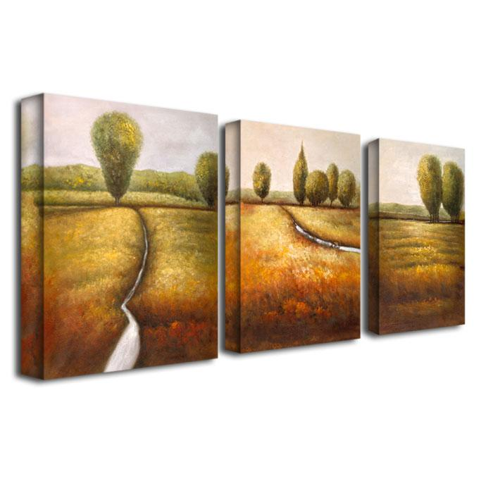 Joval 'In the Country' Canvas Art - Set of 3 Panels