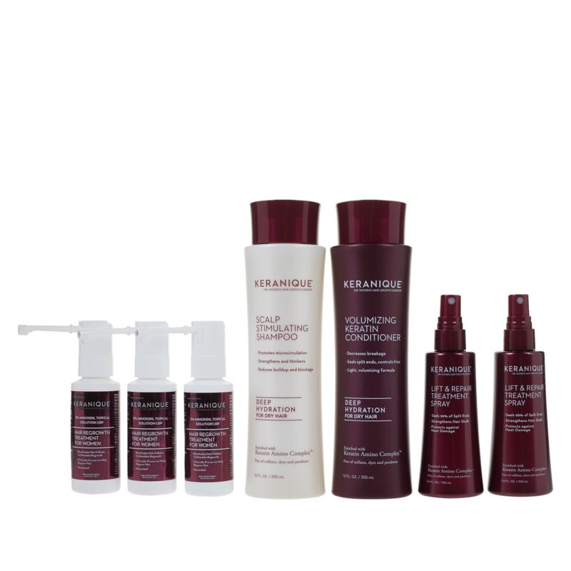 Keranique 90-Day Supply Hair Regrowth Kit