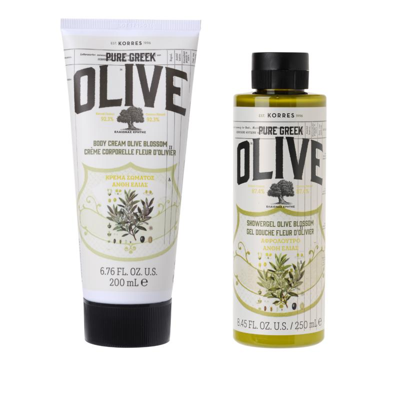 Korres Olive Oil and Blossom Body Duo