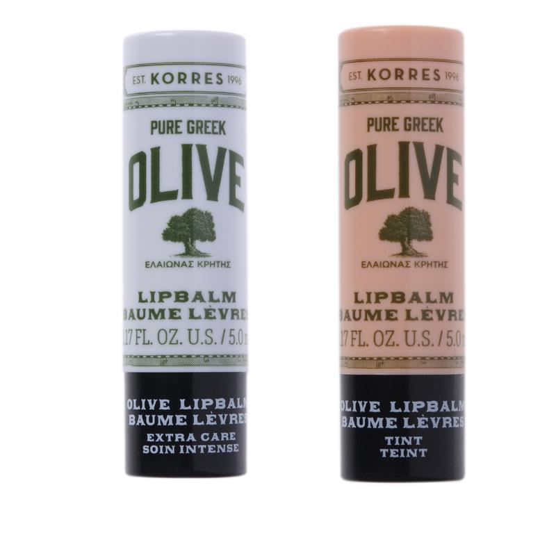 Korres Pure Greek Olive Oil Lip Balm Duo