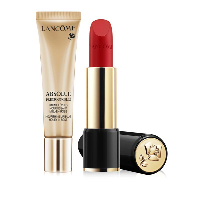 Lancôme L'Absolue Lip Balm and Rouge Lipstick Set