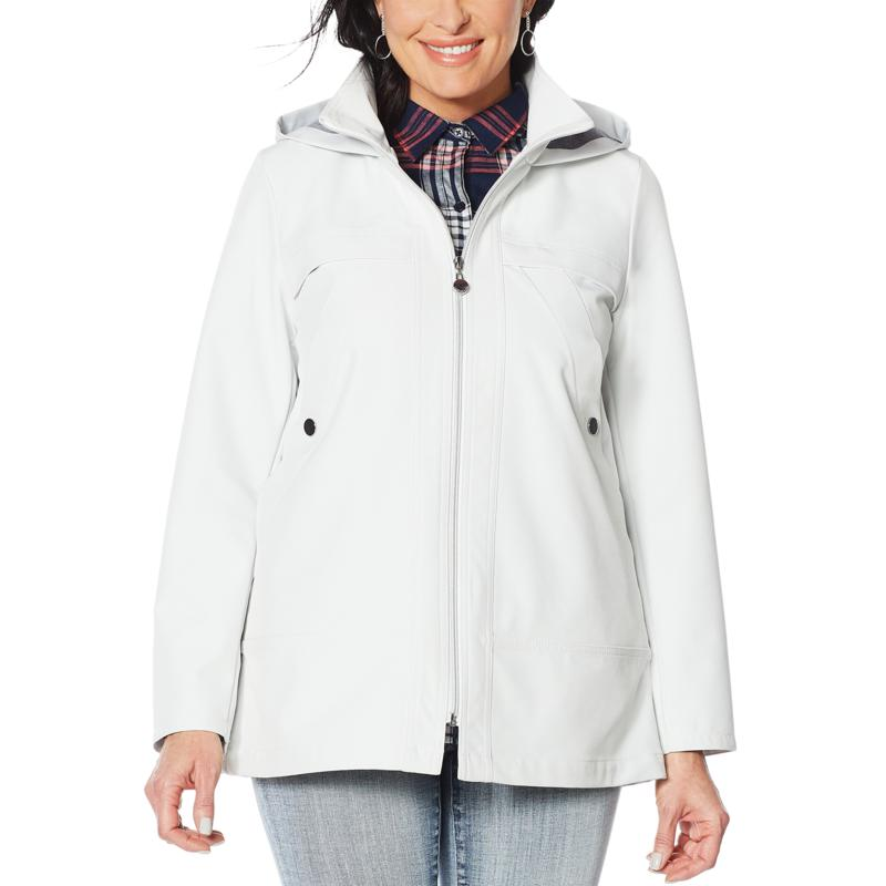 Laurier Emma Softshell Water-Resistant Jacket with Hood