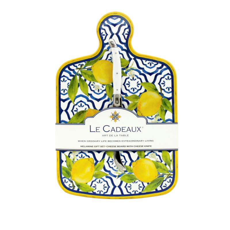 Le Cadeaux Palermo Cheese Board and Knife Set