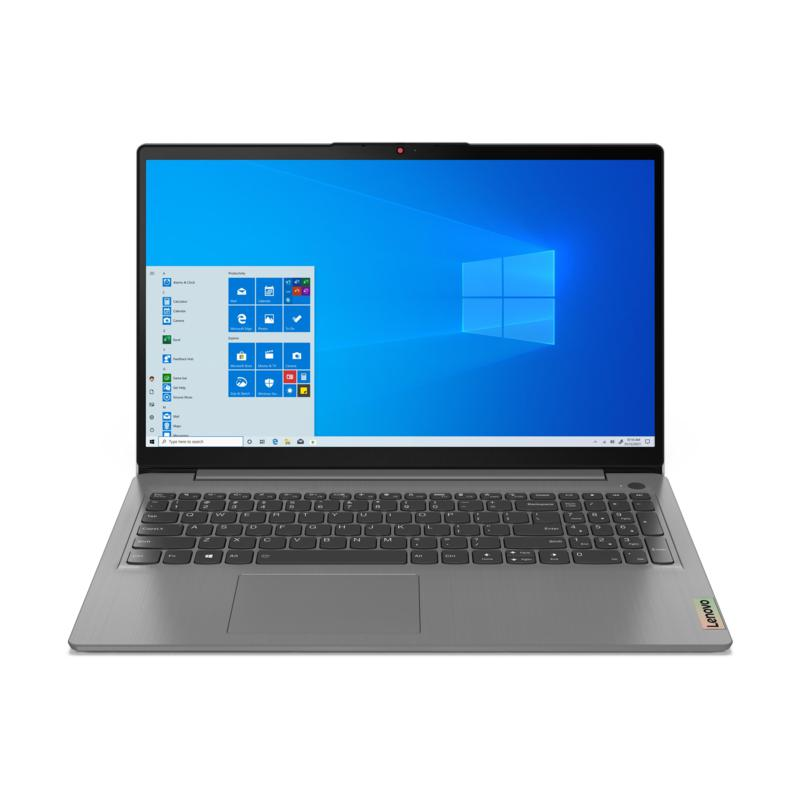 "Lenovo IdeaPad 3 i7 15.6"" Laptop 8GB RAM, 256GB SSD - Arctic Grey"