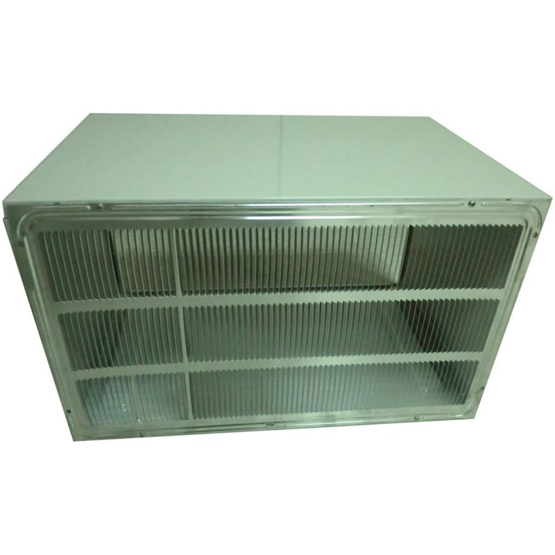 """LG Stamped Aluminum Rear Grille for 26"""" Wall Sleeve"""