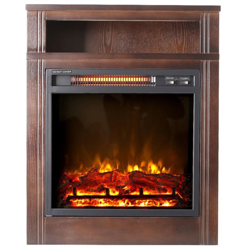 "Lifesmart 28"" Infrared Fireplace Heater"