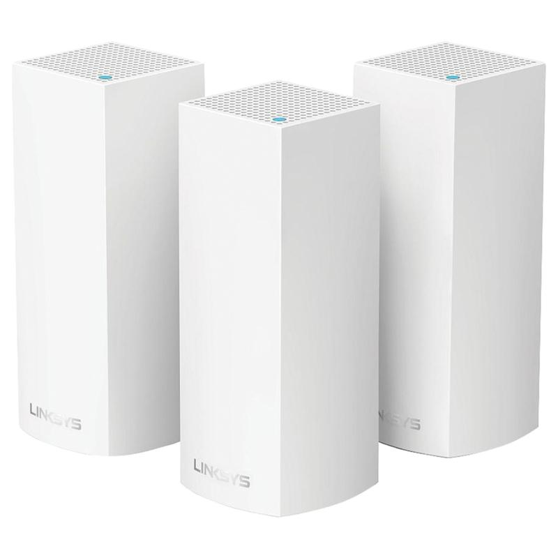 Linksys WHW0102 Velop Intelligent Mesh Wi-Fi System 3-pack