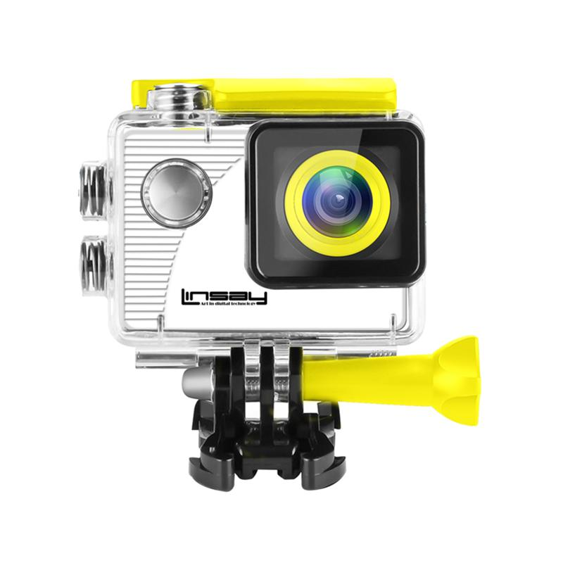 LINSAY Funny Kids HD Action Camera for Sport & Outdoor Activities